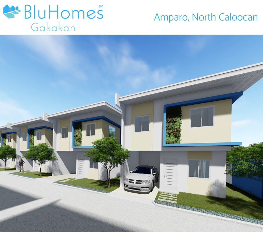 BluHomes Gakakan are eco-friendly homes in Amparo Caloocan certified by EDGE as a green building development